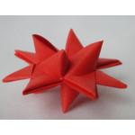 100 Red Handmade Origami Stars