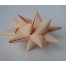 50 Cream Handmade Origami Stars