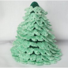 Handmade Wool Christmas Tree